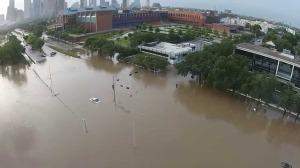 Where is Allen Parkway? Houston Memorial Day floods